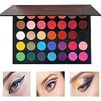 Beauty Glazed Pressed Powder 35 Colors Shimmer Matte Eyeshadow Palette Color Studio Eye Makeup High Pigment Natural Colors Makeup Palette Eye Shadow