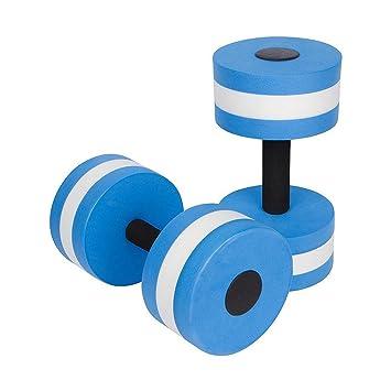 Mengonee 1 par Agua Aerobic mancuernas acuática EVA Barra Aqua Fitness Piscina Yoga Ejercicio de accesorios elásticos: Amazon.es: Deportes y aire libre