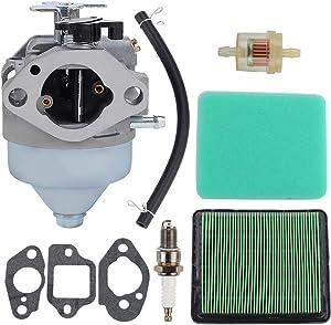 Harbot GCV190 Carburetor for Honda GCV190A GV190LA GC190 HRB217 HRX217 Ryobi Pressure Washer RY80940B Lawn Mower 16100-Z0Y-013 16100-Z0Y-853 BB65M B Carb Tune Up Kit