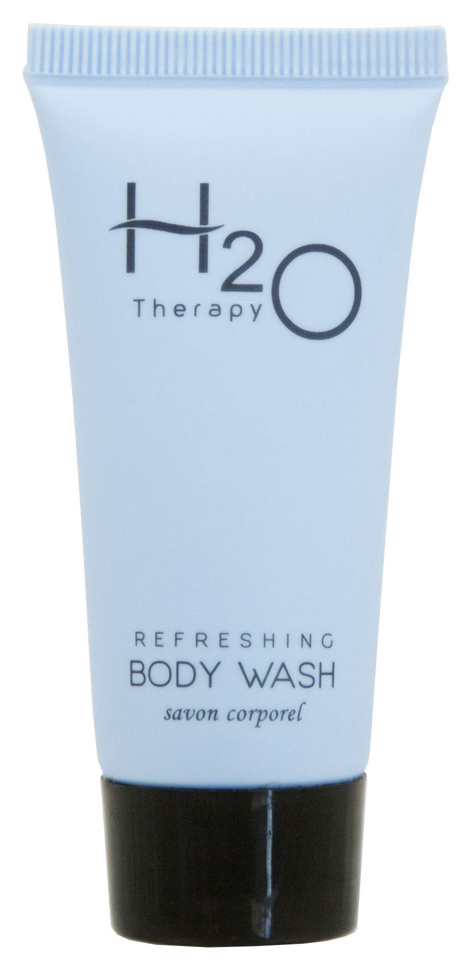 H2O Therapy Body Wash Soap, Travel Size Hotel Hospitality, 0.85 oz (Case of 300)