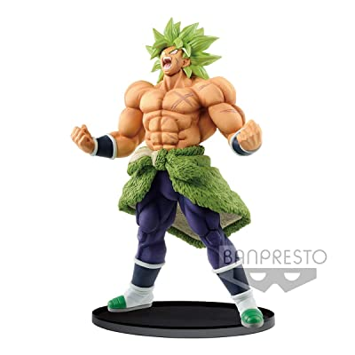 Banpresto 39945 Dragon Ball Super BWFC 2 Champion Special Broly Figure, Multiple Colors: Toys & Games