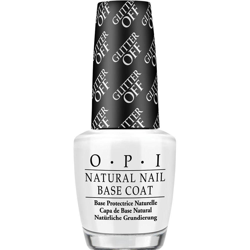 Amazon.com: OPI Nail Lacquer Base Coat, Glitter-off, 0.5 fl. oz ...
