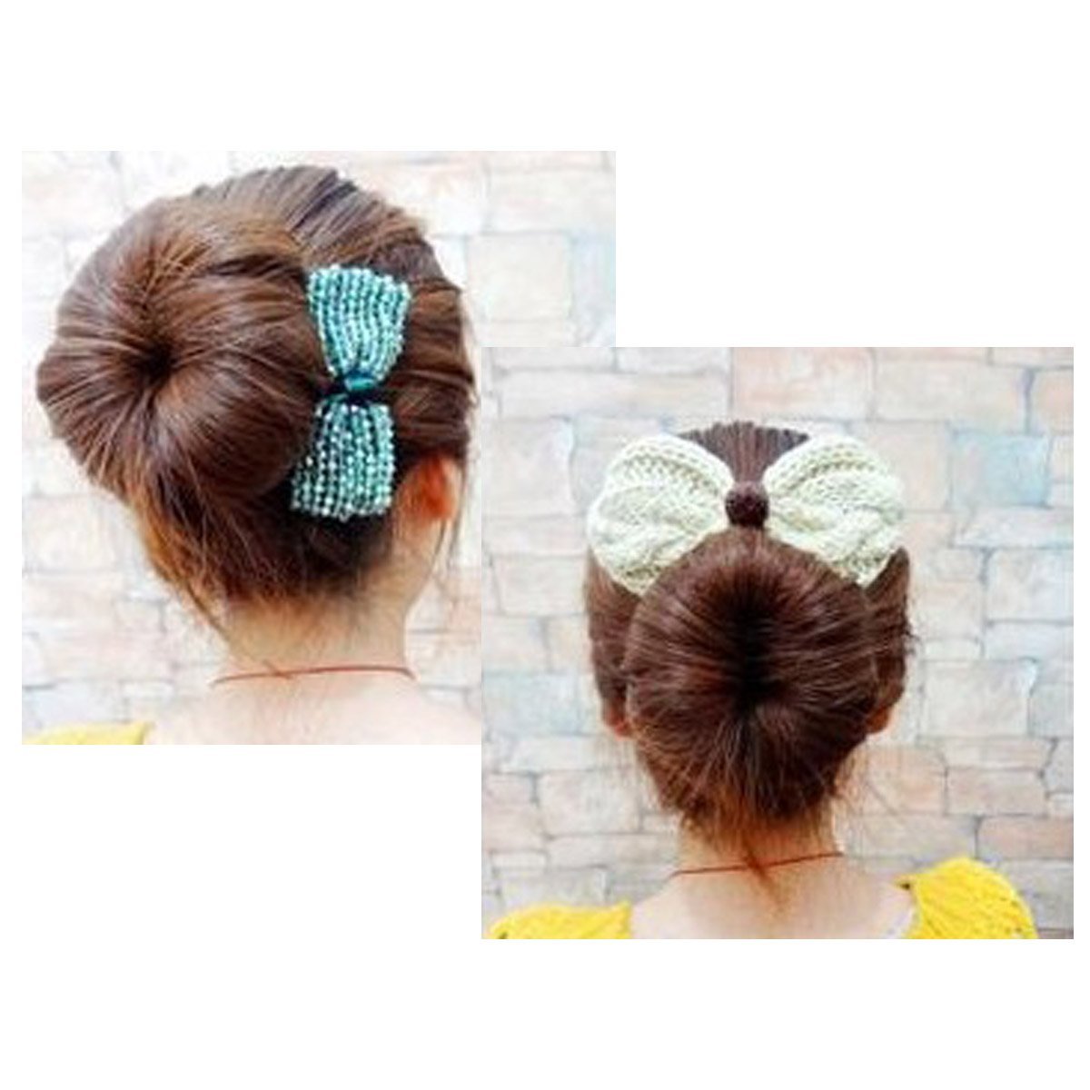 Amazon.com: Shells 2Pack Cloth Magic Clip French Twist Hairstyle ...
