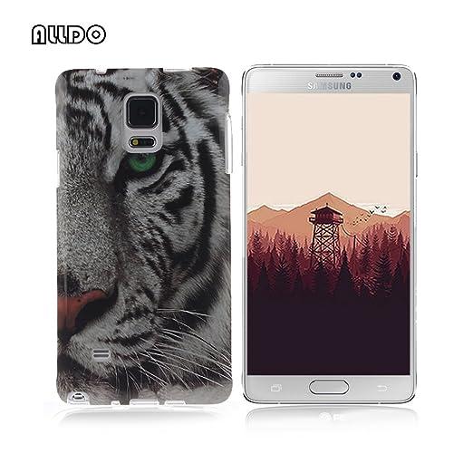2 opinioni per AllDo Custodia in Silicone per Samsung Galaxy Note 4 Cover Gomma TPU Custodia