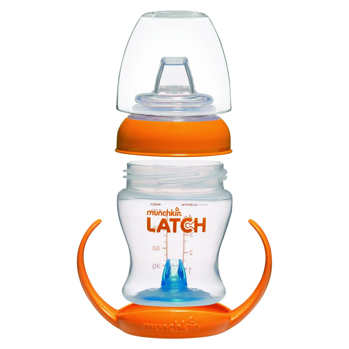 orange Munchkin Latch Erster Becher 125 ml