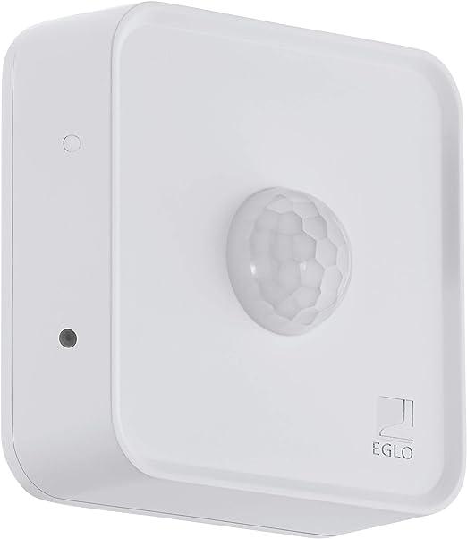 EGLO CONNECT SENSOR Sensor de movimiento - Accesorio de iluminación (Sensor de movimiento, Blanco, De plástico, IP44, CE, 120 g): Amazon.es: Iluminación