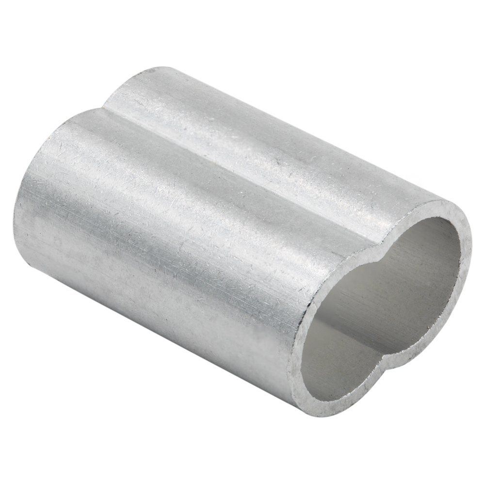 Amazon.com: SwageRight Aluminum Fiber Rope Duplex Thinwall Swage ...