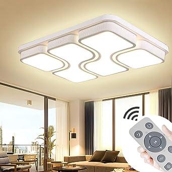 ADEMAY 100W Dimmbar LED Deckenleuchten Moderne Deckenleuchte für ...