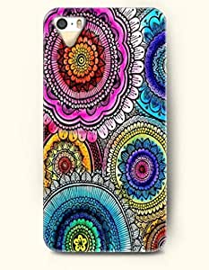 OOFIT Apple iPhone 4 4S Case Moroccan Pattern ( Colorful Flowers in Circles ) by icecream design