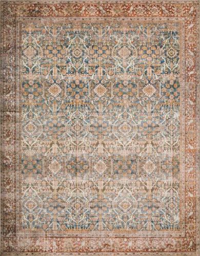 Loloi II LAYLLAY-04OCRU90C0 Layla Collection Area Rug, 9'0