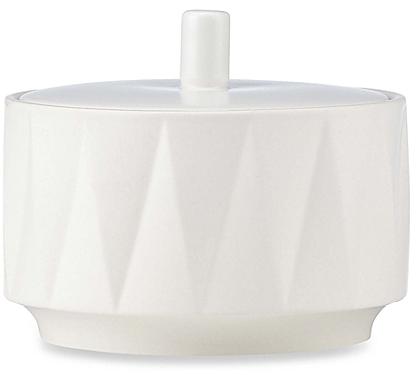 kate spade new york Castle Peak™ 2-piece Sugar Bowl in Cream - BedBathandBeyond.com