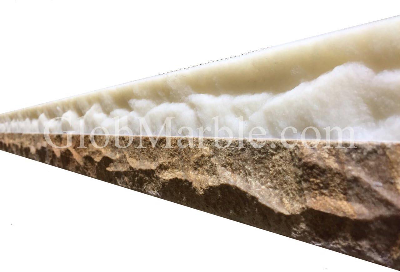 GlobMarble Concrete COUNTERTOP Edge Form CEF 7010 Rubber Mold Form Liners Edge Profile