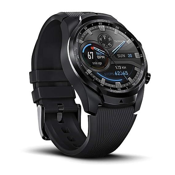 Amazon.com: Ticwatch Pro 4G/LTE, reloj inteligente de doble ...