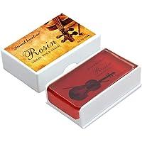 Rosin Violin Rosin 2 pack Big size Rosin Low Dust Natural Rosin for Violin Cello Viola Bows (Red)
