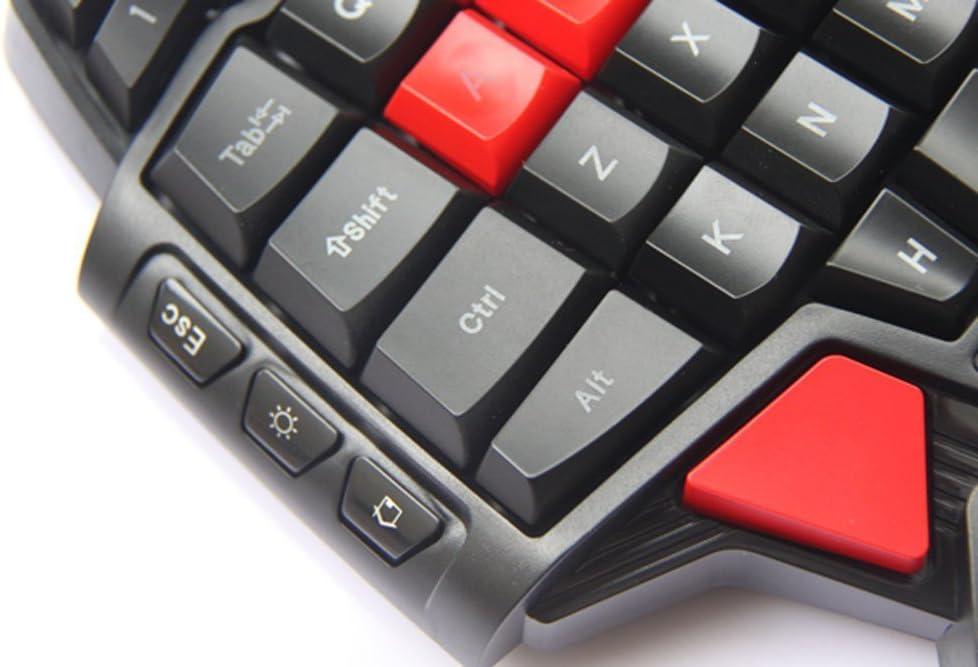 Gearmax® Diseño Ergonómico Mini Mano Jugador de Teclado ...