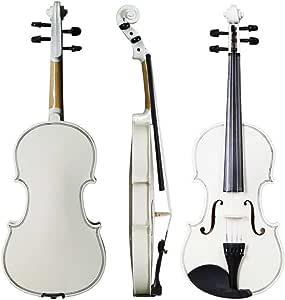 1/4 blanco violín acústico Fiddle Bono Libro electrónico