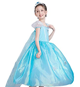d763c3b8e5438 (ホーマイ)HOOMAI ハロウィン アナと雪の女王 エルサ ドレス ワンピース 子供 プリンセス 仮装