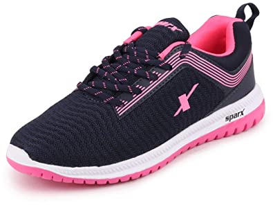 Blue Pink Sports Running Shoes