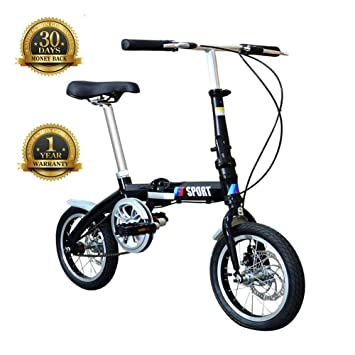 TBAN Bicicleta Plegable, 14 Pulgadas, Artículos para El Hogar ...