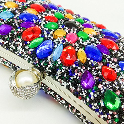 FZHLYNew Dinner Bag Diamond Clutch
