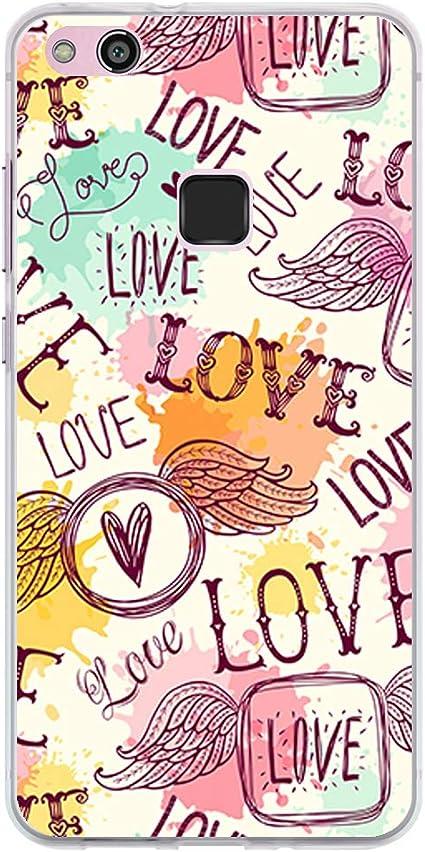 BJJ SHOP Custodia Trasparente per [ Huawei P10 Lite ], Cover in ...