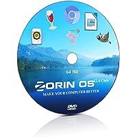 Zorin OS 12.4 Core Zorin 64 Bit Live Bootable Installation DVD