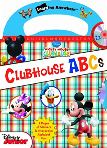 Disney Mickey Mouse Clubhouse ABCs (with audio CD and easy-to ...