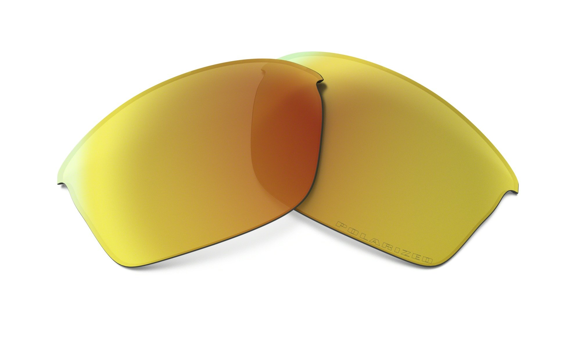 Oakley Flak Jacket Adult Lens Kit Lifestyle Sunglass Accessories - Fire Iridium Polarized / One Size by Oakley