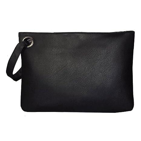 714c9c0d3f le donne pu cuoio borsa frizione borsa da sera retrò borsa busta pacchetto  tote bag gigante