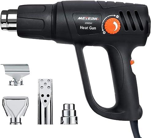 Pistolet thermique 2000 W température air électrique pistolet quatre Buse Accessoires Outil électrique