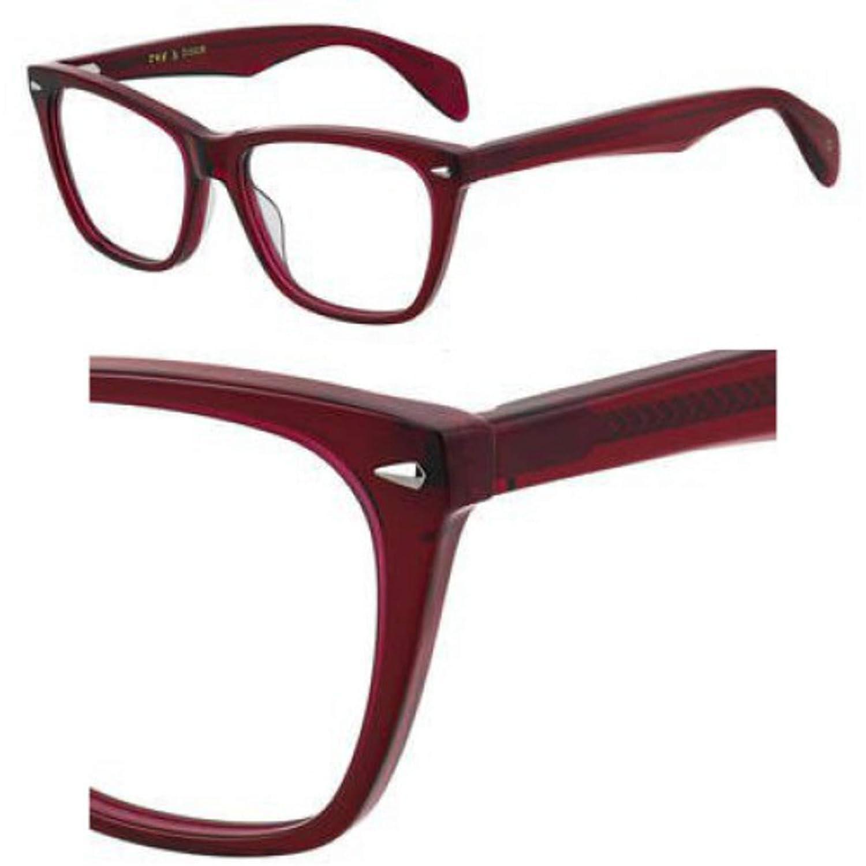 Eyeglasses Rag and Bone Rnb 3013 0LHF Opal Burgundy