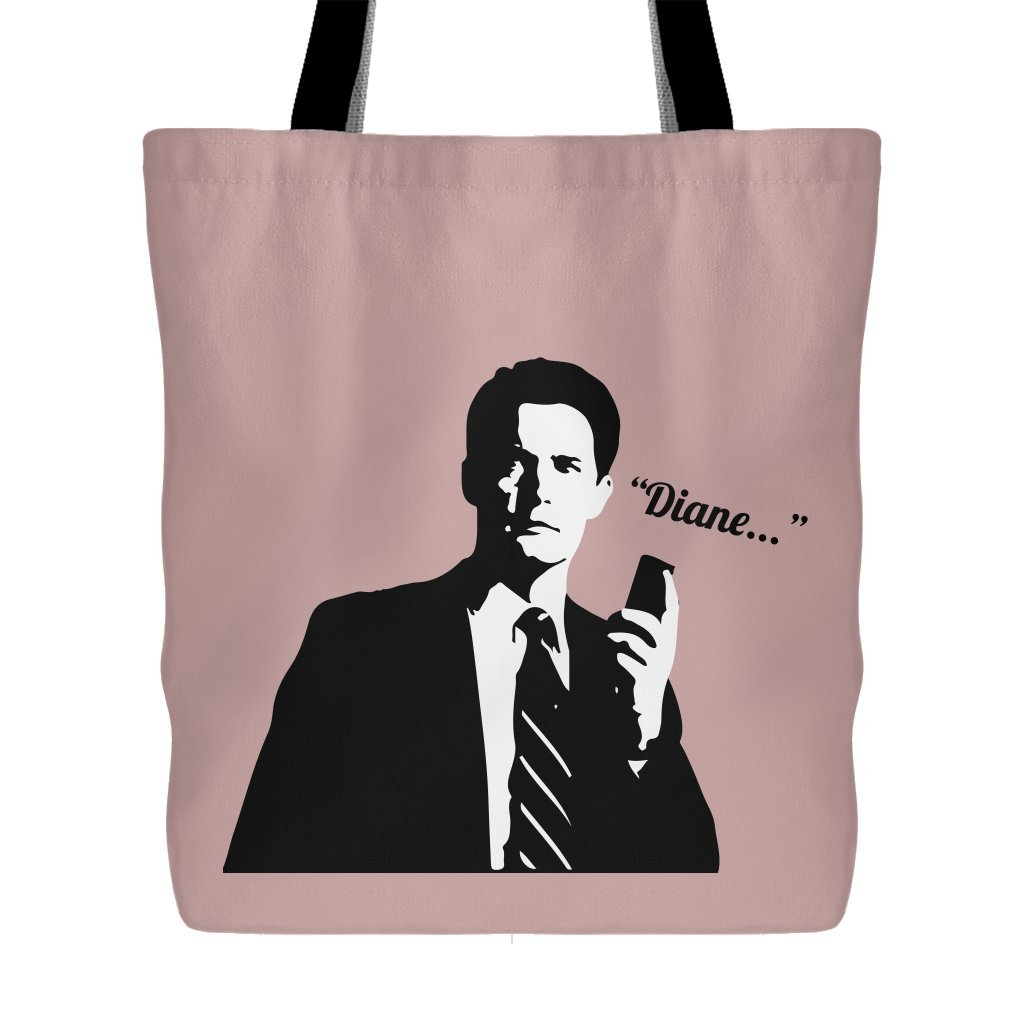 Twin Peaks - Dale Cooper With His Recorder Saying Diane - Tote Bag