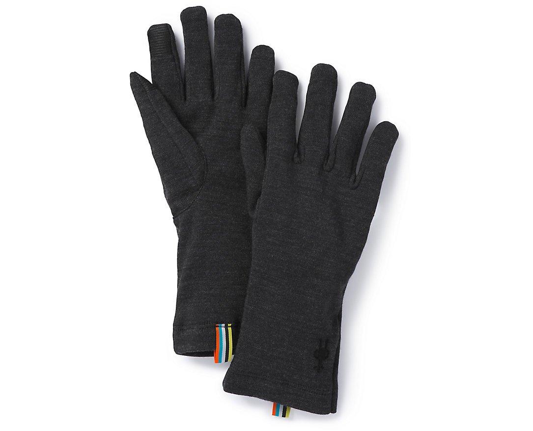 Smartwool Merino 250 Glove Charcoal Heather S