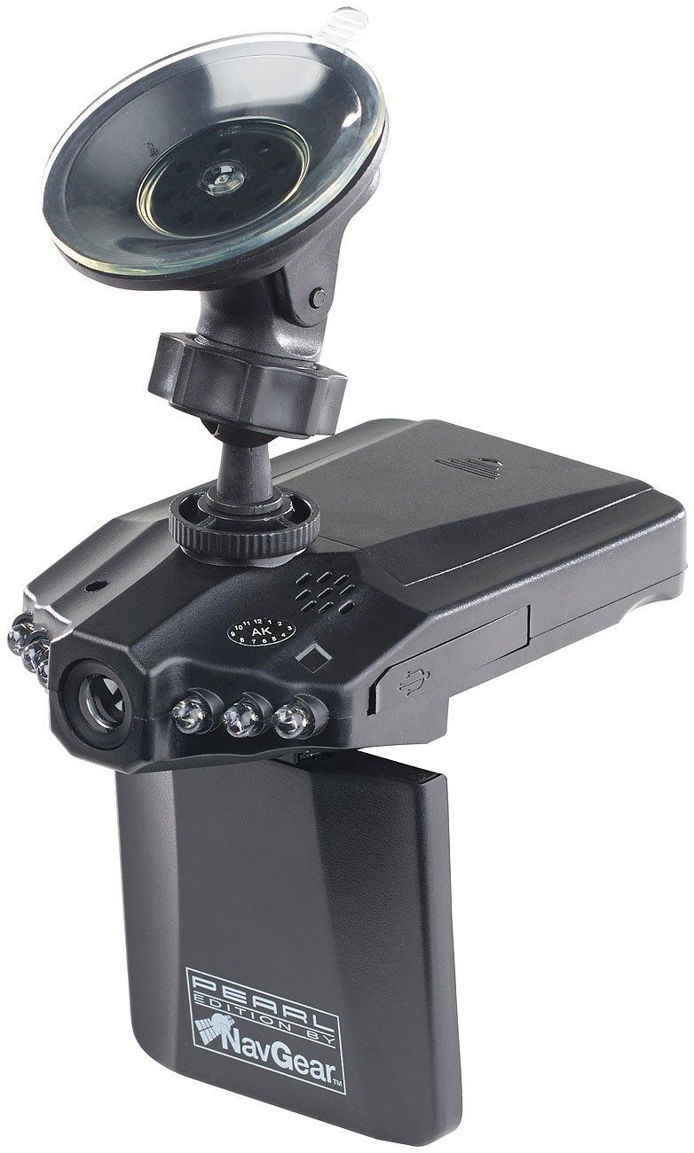 NavGear Daschcam Dashcams Auto-DVR-Kamera MDV-2250.IR mit LCD-Display /& Bewegungserkennung