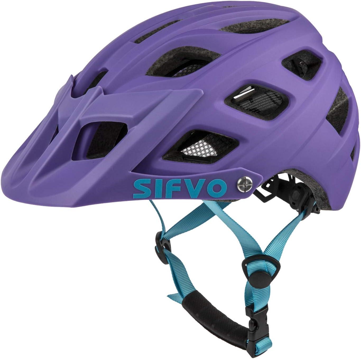 SIFVO Youth Bike Helmet MTB Bicycle Cycling Helmet ,Universal Youth (55-58 cm)