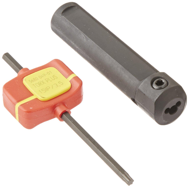 Sandvik Coromant CXS-A16-04 Turning Insert Holder, Round Shank, Steel, Internal, Screw Clamp, Neutral, 16mm Shank Diameter, 75mm Length, CXS-04 Insert Size