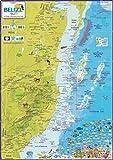 Belize Dive Guide Franko Maps Waterproof Map