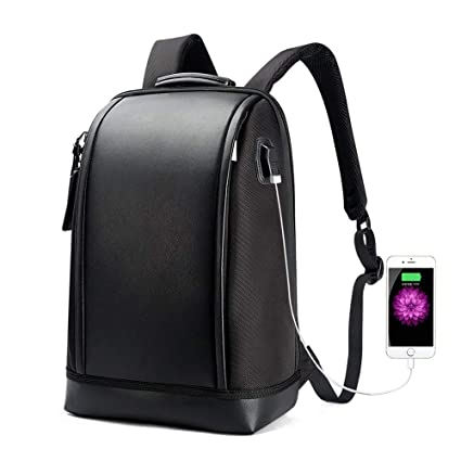 13617372c75 Bopai Business 15.6 inch Laptop Backpack Invisible Water Bottle Pocket Anti-Theft  Laptop Rucksack USB