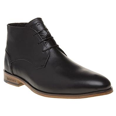 Simon Carter Rubbra Homme Boots Noir  Amazon.fr  Chaussures et Sacs 9ed83d0e06ef