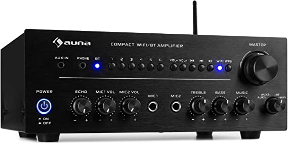 auna Intelligence Amp Amplificador estéreo: Amazon.es: Electrónica