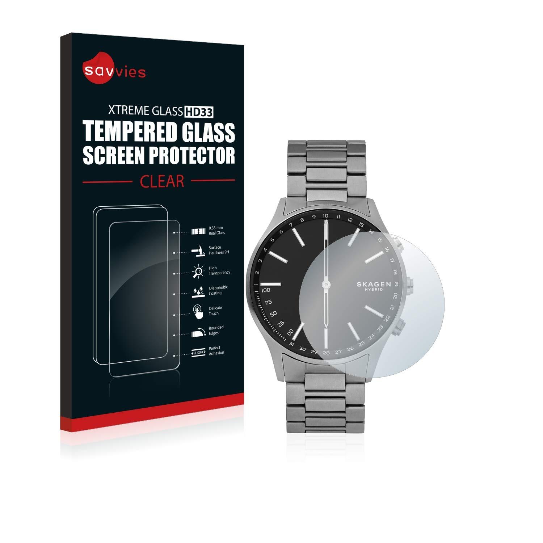 savvies Cristal Templado Compatible con Skagen Hybrid ...