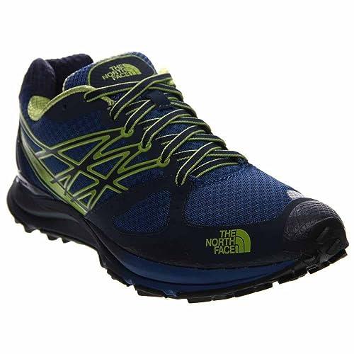 The North Face M Ultra Cardiac, Zapatillas de Running para Hombre, Azul (Cosmic Blue/Macaw Green), 47 EU: Amazon.es: Zapatos y complementos
