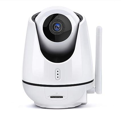 EJIKER Cámara IP 1080P WIFI HD Cámara de Vigilancia con Visión Nocturna Monitor de Bebes Audio