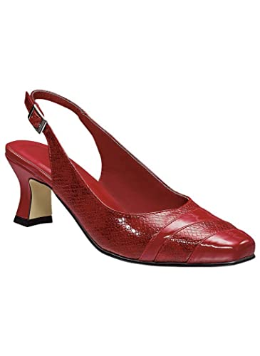 7817a80d16 Amazon.com | AngelSteps Women's Adult Macy Synthetic Pumps Shoes Dress Shoes  14 Medium US Women/Red | Pumps
