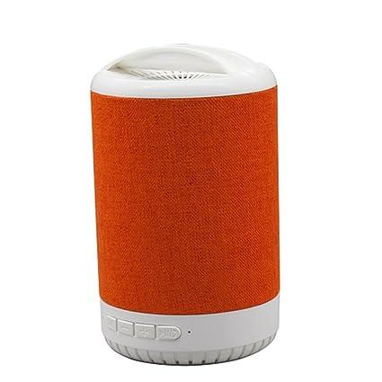 Cajas acústicas Altavoces de escritorio portátiles de la tela del altavoz de Bluetooth Hogar Coche al