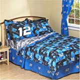 Springs Industries Ryan Newman Number 12 Sheet Set - Size Twin