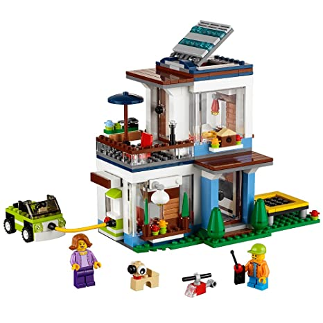 Amazon Lego Creator Modular Modern Home 31068 Building Kit 386