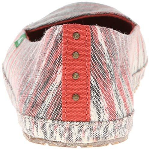 Sanuk Vrouwen Folklore Slip-on Loafer Off White Multi