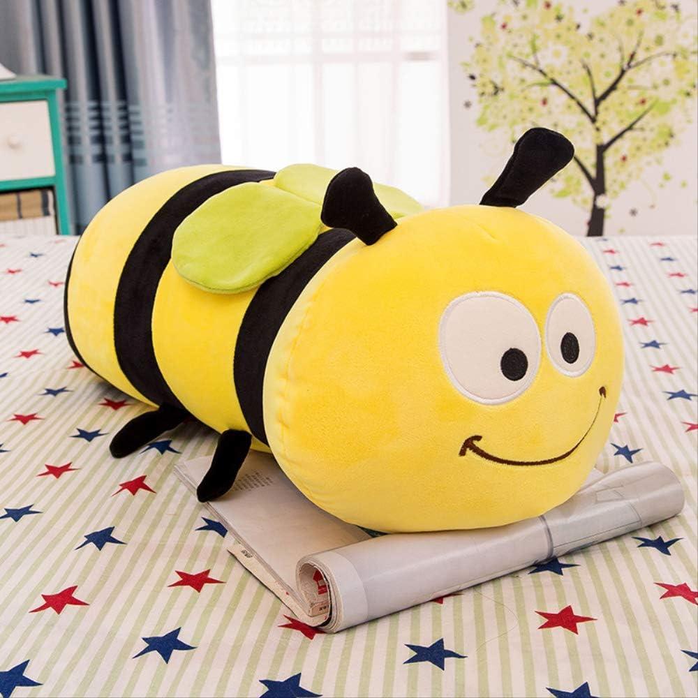 MAICU Abeja Peluche Almohada Juguete Niño Regalo De Cumpleaños Lindo Kawaii Animal Doll Sleeping Soft Sofa Decoración 70Cm