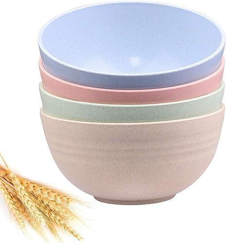 RUNJU-ZP Unbreakable Cereal Bowls